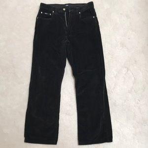 Hugo Boss black velvet jean, straight fit